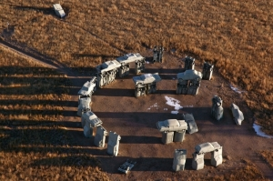 carhenge from above
